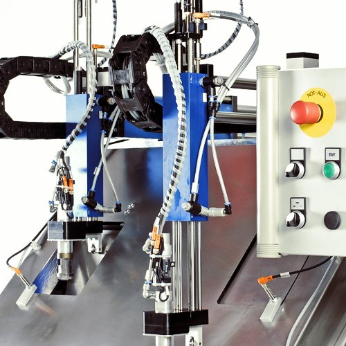 System for automated sand blasting